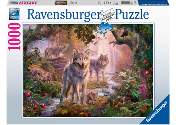Ravensburger - Summer Wolves Puzzle 1000pc