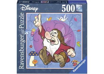 Ravensburger - Disney Grumpy Puzzle 500pc Square