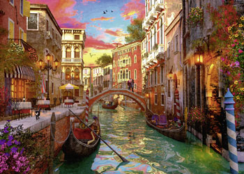 Ravensburger - Venice Romance Puzzle 1000pc