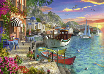 Ravensburger - Grandiose Greece Puzzle 1000 pieces