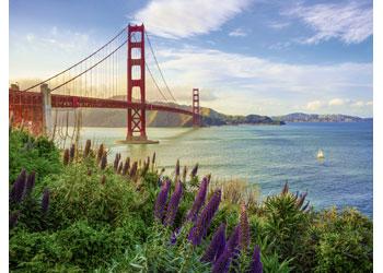 Ravensburger - Golden Gate Sunrise Puzzle 1000 pieces