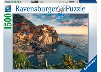 Ravensburger - Cinque Terre Viewpoint Puzzle 1500pc