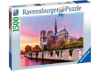 Ravensburger - Picturesque Notre Dame Puzzle 1500pc
