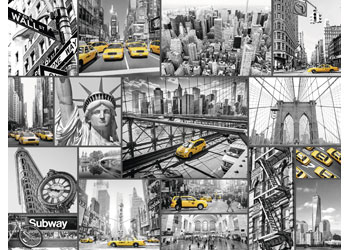 Ravensburger - New York Cabs Puzzle 1500pc