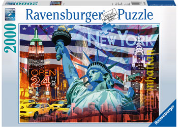 Ravensburger - New York Collage 2000pc Puzzle