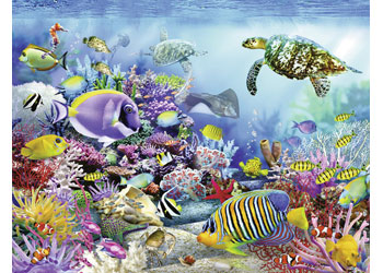 Ravensburger - Coral Reef Majesty Puzzle 2000pc