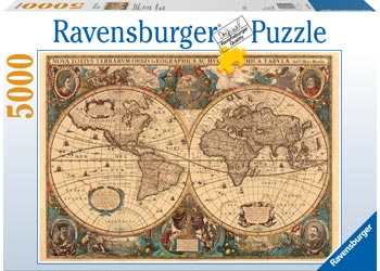 Maps charts ravensburger historical world map puzzle 5000 pieces maps charts gumiabroncs Choice Image