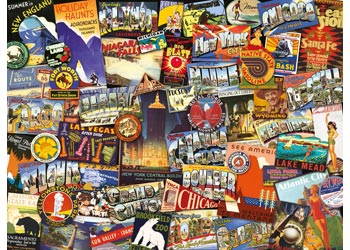 Ravensburger - Road Trip Puzzle 1000 pieces