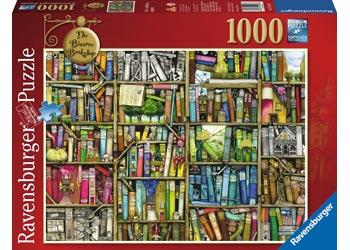 Ravensburger - The Bizarre Bookshop Puzzle 1000pc