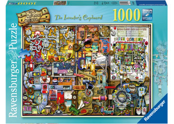 Ravensburger - The Inventor's Cupboard 1000pc Puzzle