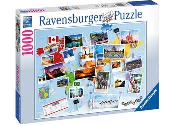 Ravensburger - World Travel Memories Puzzle 1000pc