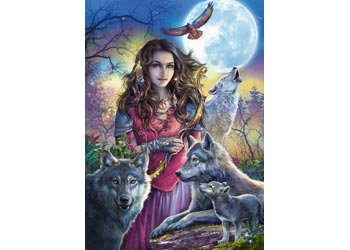 Ravensburger - Protector of Wolves Puzzle 1000pc