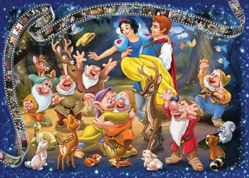 Disney Snow White Puzzle 1000pc