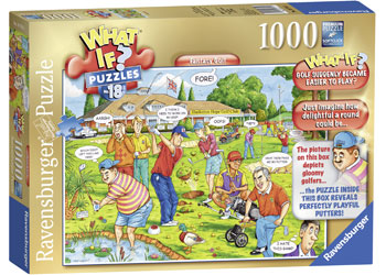 Ravensburger - What If No 17 Golf Was Easy 1000pc