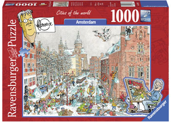 Ravensburger - Amsterdam in Winter Puzzle 1000pc