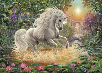 Ravensburger - Mystical Unicorn Puzzle 1000 pieces