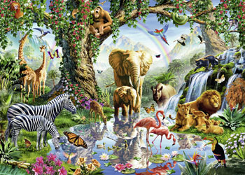 Ravensburger - Adventures in the Jungle 1000 pieces