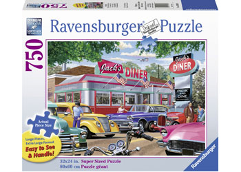 Ravensburger - Meet you at Jack's Puzzle 750pcLF