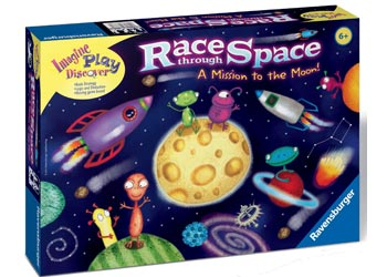 Race Through Space Game