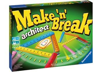 Ravensburger - Make 'N' Break Architect Game