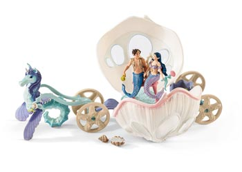 Schleich - Royal Seashell Carriage