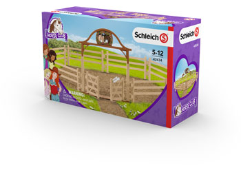 Schleich - Paddock with Entry Gate