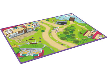 Schleich-Horse Club playmat