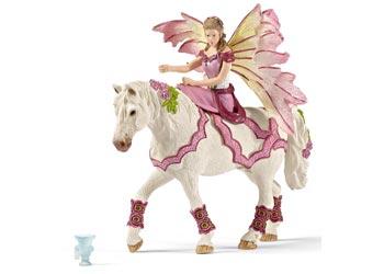 Schleich – Feya in Festive Dress Riding