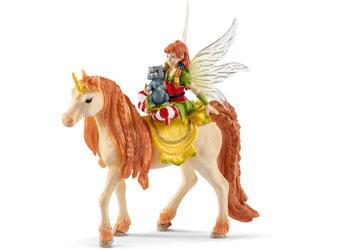 Schleich - Fairy Marween with Glitter Unicorn