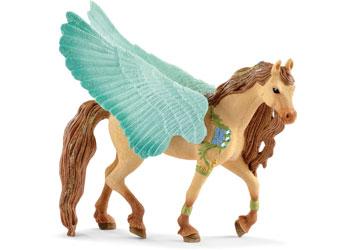 Schleich - Decorated Pegasus Stallion