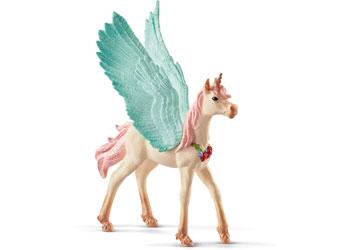 Schleich - Decorated Unicorn Pegasus Foal