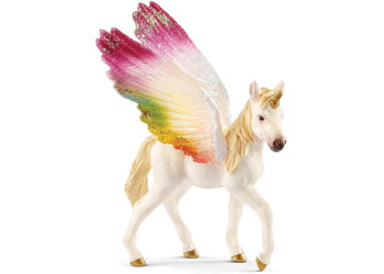 Schleich - Winged Rainbow Unicorn Foal
