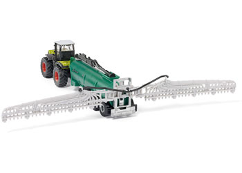 Siku – ClaasXerion with slurry tanker – 1:87