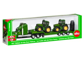 Siku – Low Loader w John Deeres – 1:87 Scale