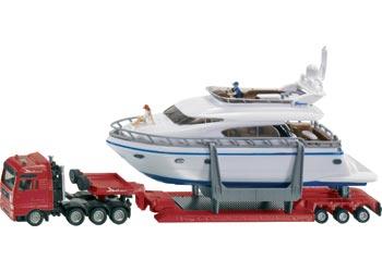Siku – Transporter with Yacht 1:87