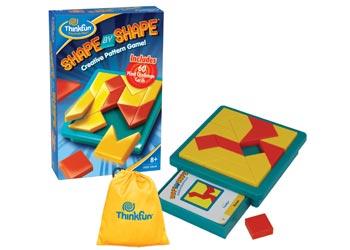 ThinkFun - Shape by Shape Game