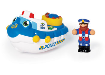 WOW Toys – Police Boat Perry