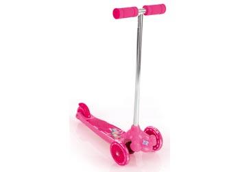 Eurotrike – Twist & Roll Tri Scooter – Pink