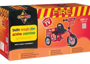 Eurotrike - Tandem Trike - Fire
