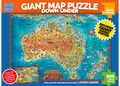 Blue Opal - Down Under Giant Map 300 pieces