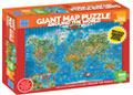 Blue Opal - Around the World Giant Map 300 pieces