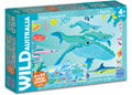 Blue Opal - Wild Australia Happy Humpback Whale 2x24pc Puzzle