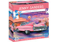 Blue Opal - Pink Caddy at the Carhop Diner 1000pc