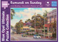 Blue Opal - John Bradley Eumundi on Sunday 1000pc