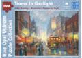Blue Opal - John Bradley Trams In Gaslight 1000pc