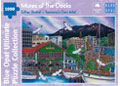 Blue Opal - Esther Shohet Mures at the Docks 1000pc