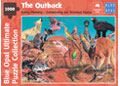Blue Opal - Garry Fleming The Outback 1000pc