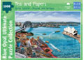 Blue Opal - Sarina Tomchin Tea & Papers 1000pc