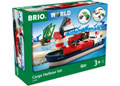 BRIO Set - Cargo Harbour Set, 16 pieces