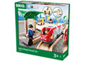 BRIO Set - Rail & Road Travel Set, 33 pieces